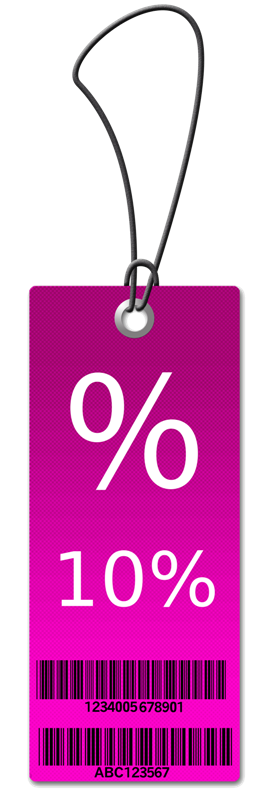 10% Sales Tag - find 10% of an amount