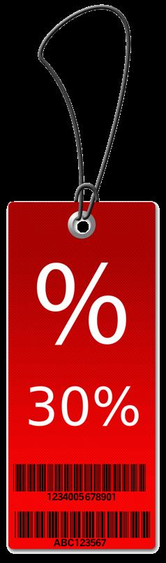 30% of