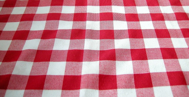 Gingham Table Cloth