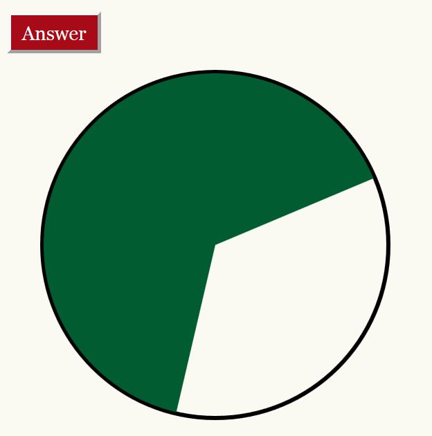 Estimate the percentage game