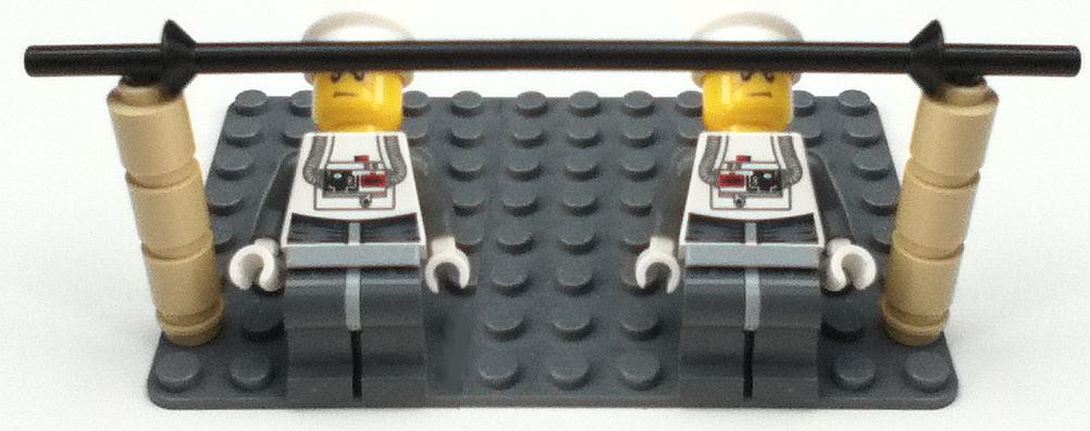 Limbo - in lego figures
