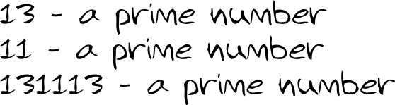 13 11 prime numbers