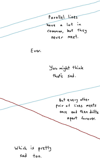 The Poetry of Parallel Lines