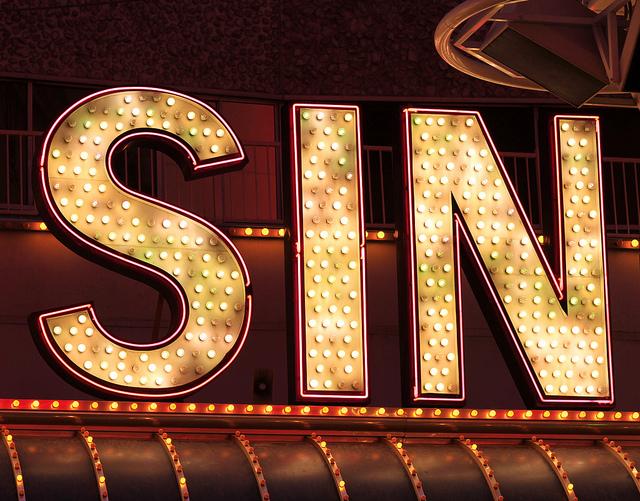 Sin or sine?