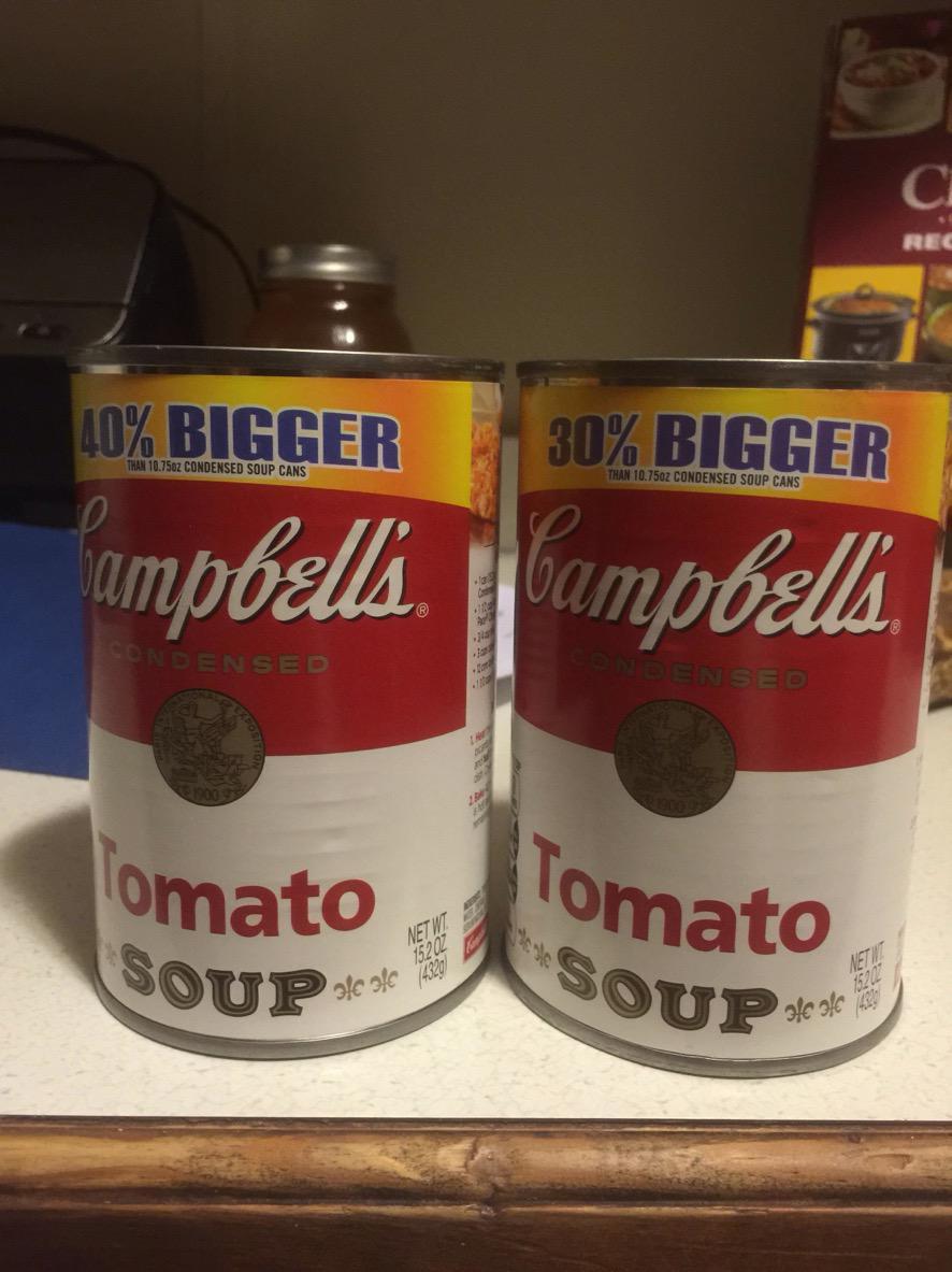 Percentage soup